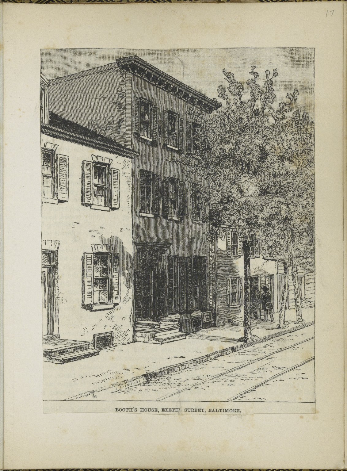 John Wilkes Booth's Family on North Exeter Street