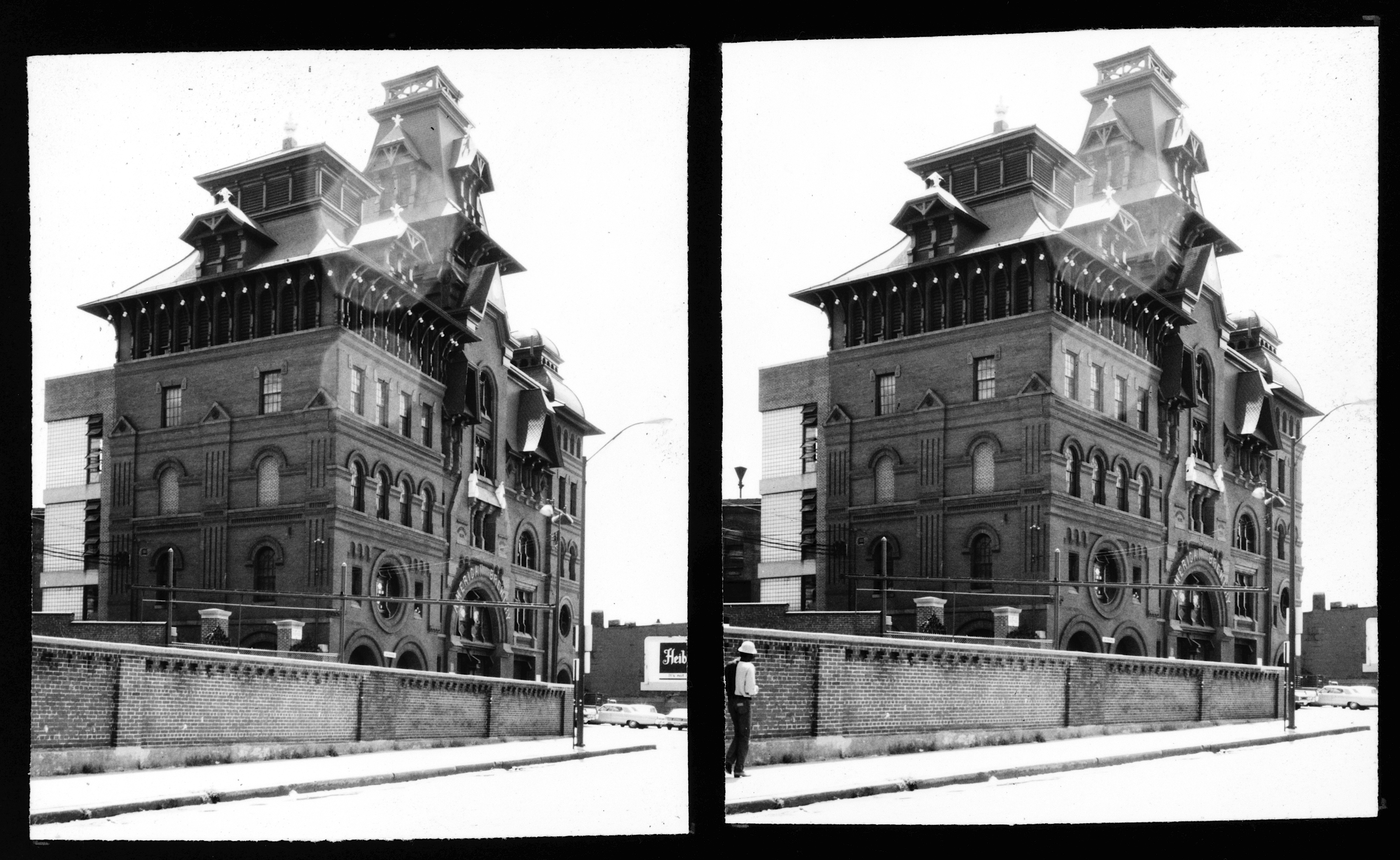 Incredible Old Photo of the Wiessner Brewery