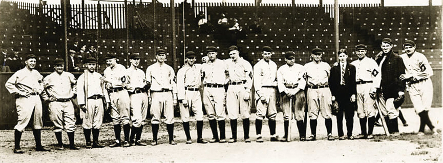 Babe Ruth's First Professional Game; Plays Shortstop for the Orioles