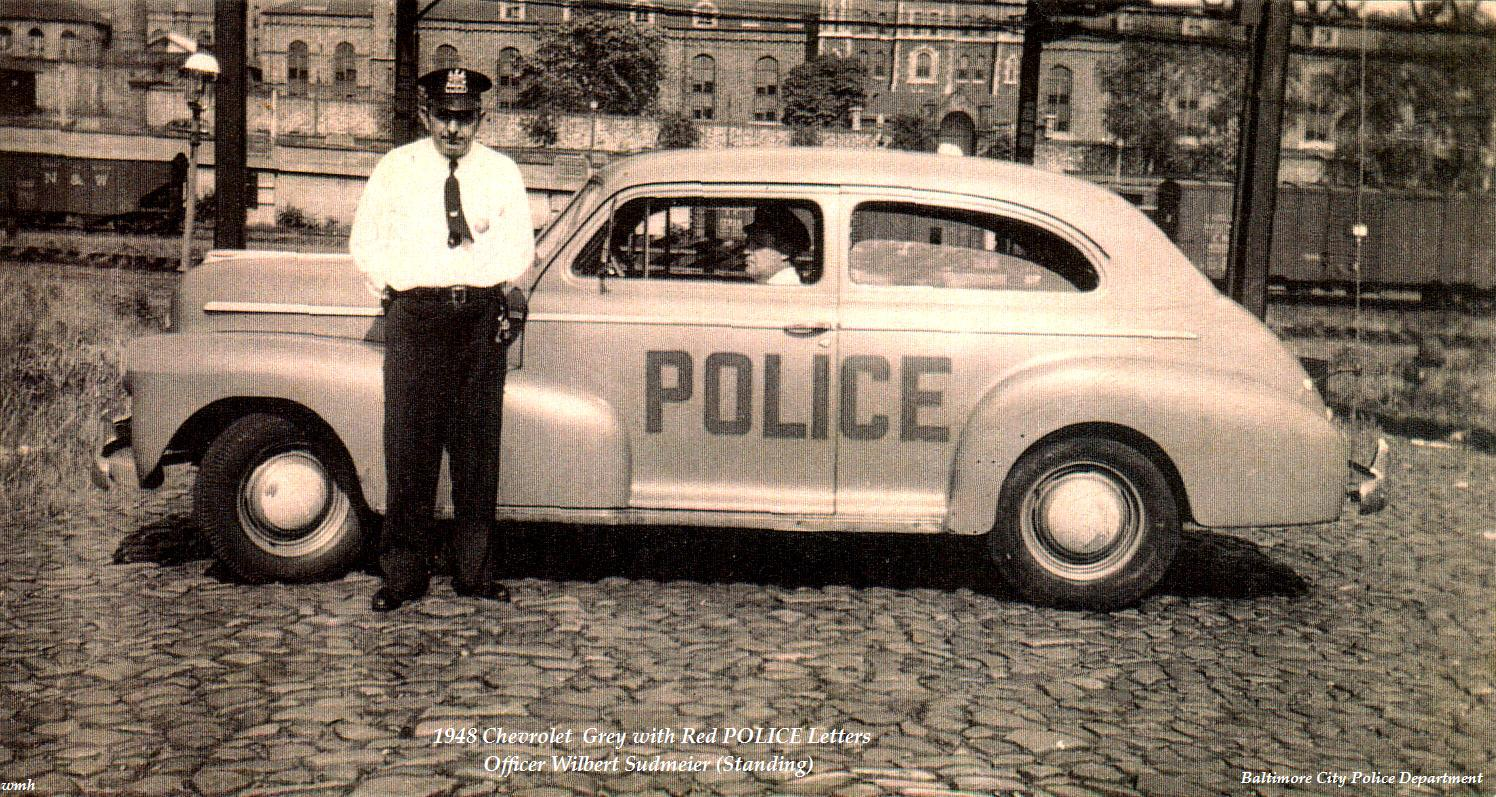 1948 Baltimore Police Car