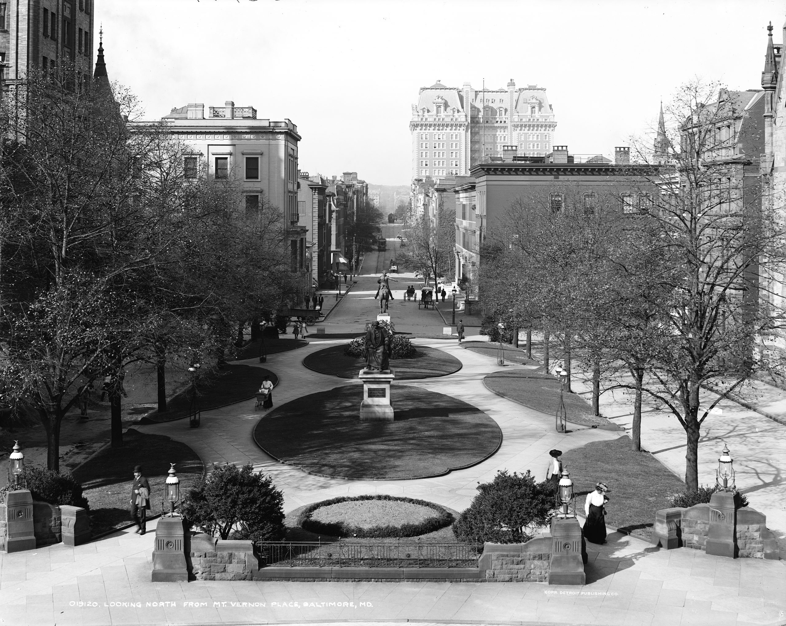 Another Great Photo of Mt. Vernon Place