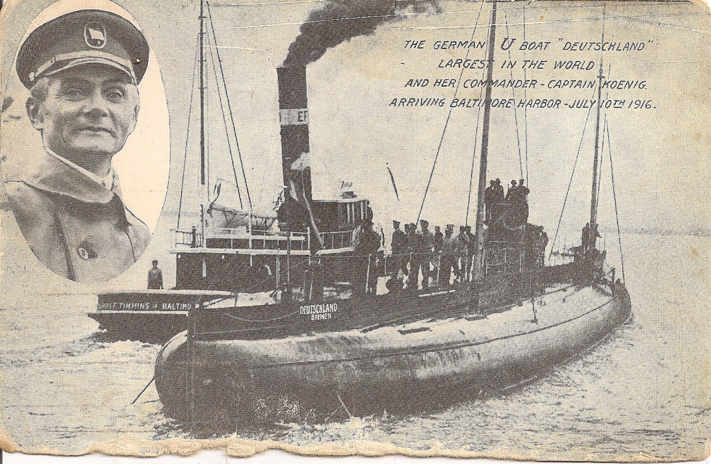 German U-Boat Deutschland (1916)