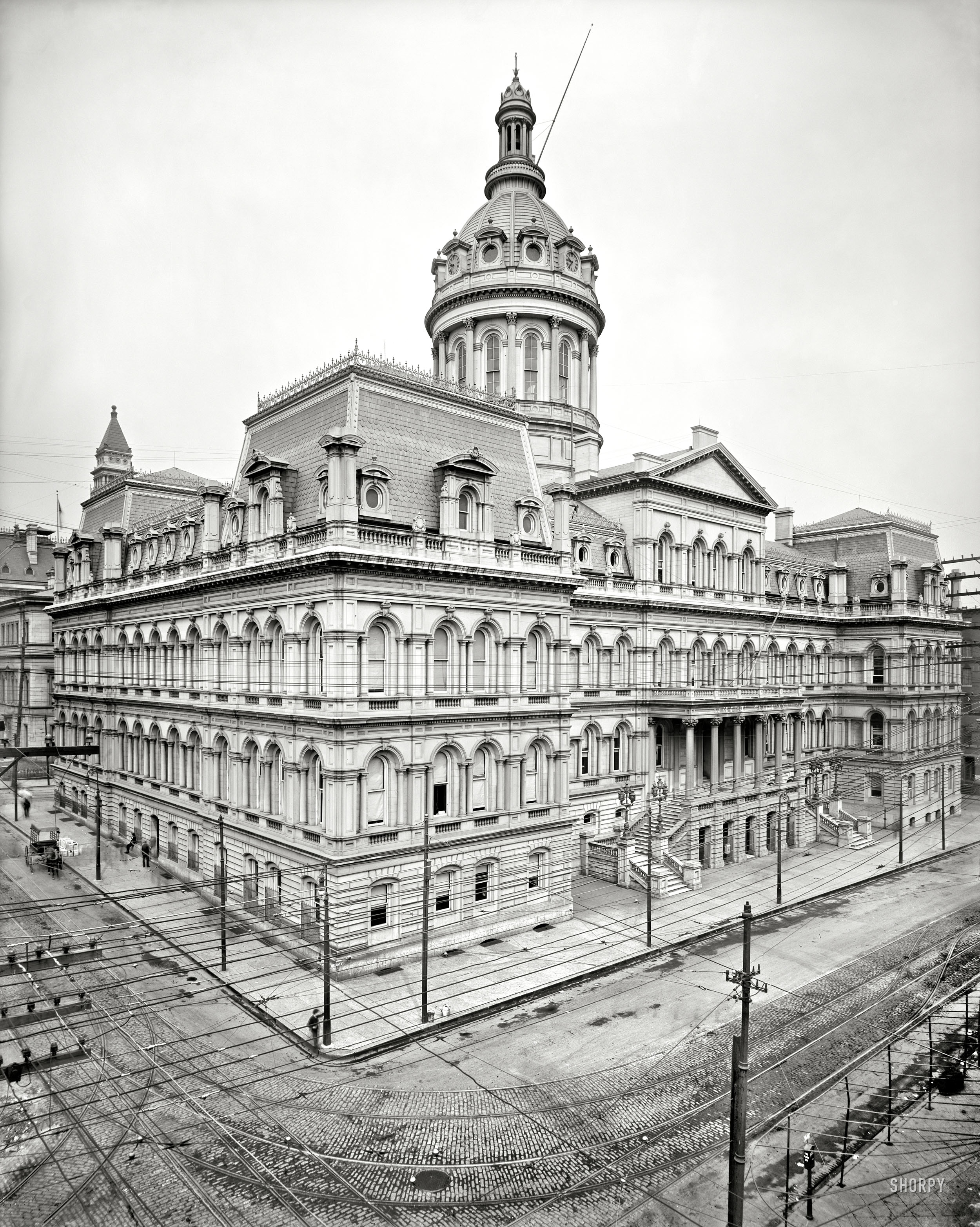 Great Photo of Baltimore City Hall in 1900