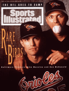 Mike Mussina and Ben McDonald - Sports Illustrated