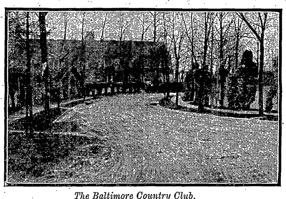 the Baltimore country club