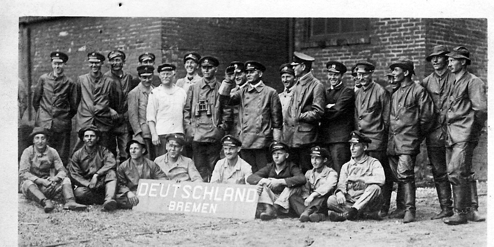 crew of the Deutschland in Baltimore (1916)