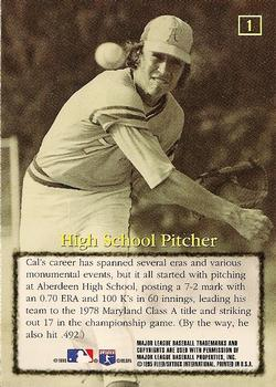 Cal Ripken Jr., Aberdeen pitcher - 1978