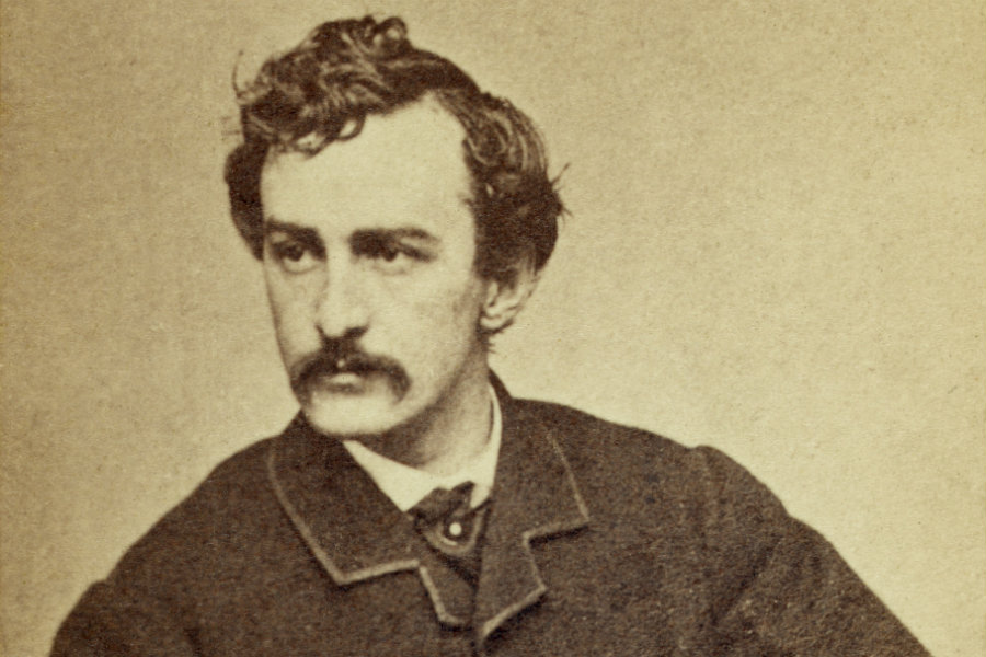 portrait of John Wilkes Booth
