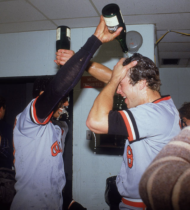 Cal Ripken Catches Last Out of 1983 World Series