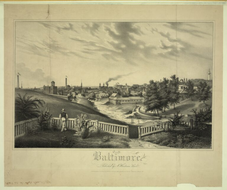 Baltimore in 1837