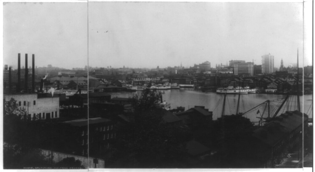 Baltimore Harbor 1903