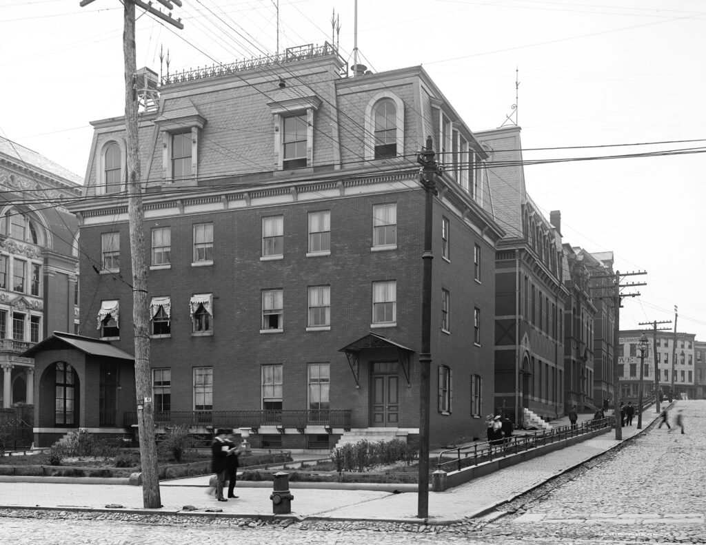 Johns Hopkins in 1902