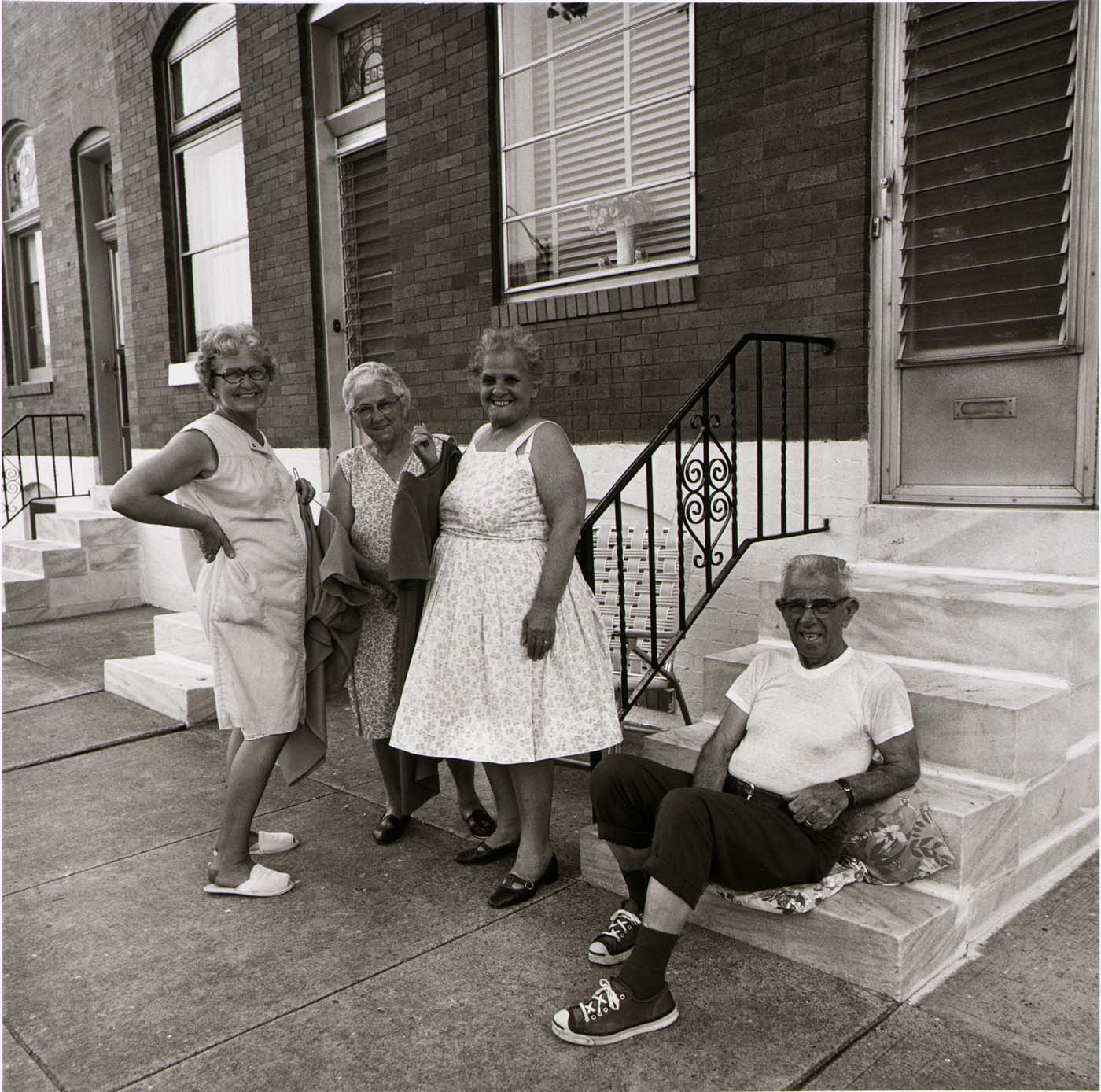 East Baltimore Front Stoop
