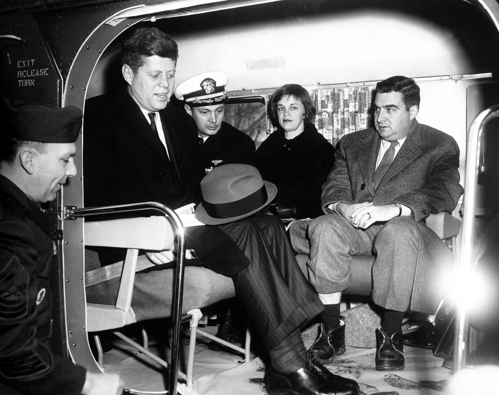 Kennedy Visits Patterson Park in '62