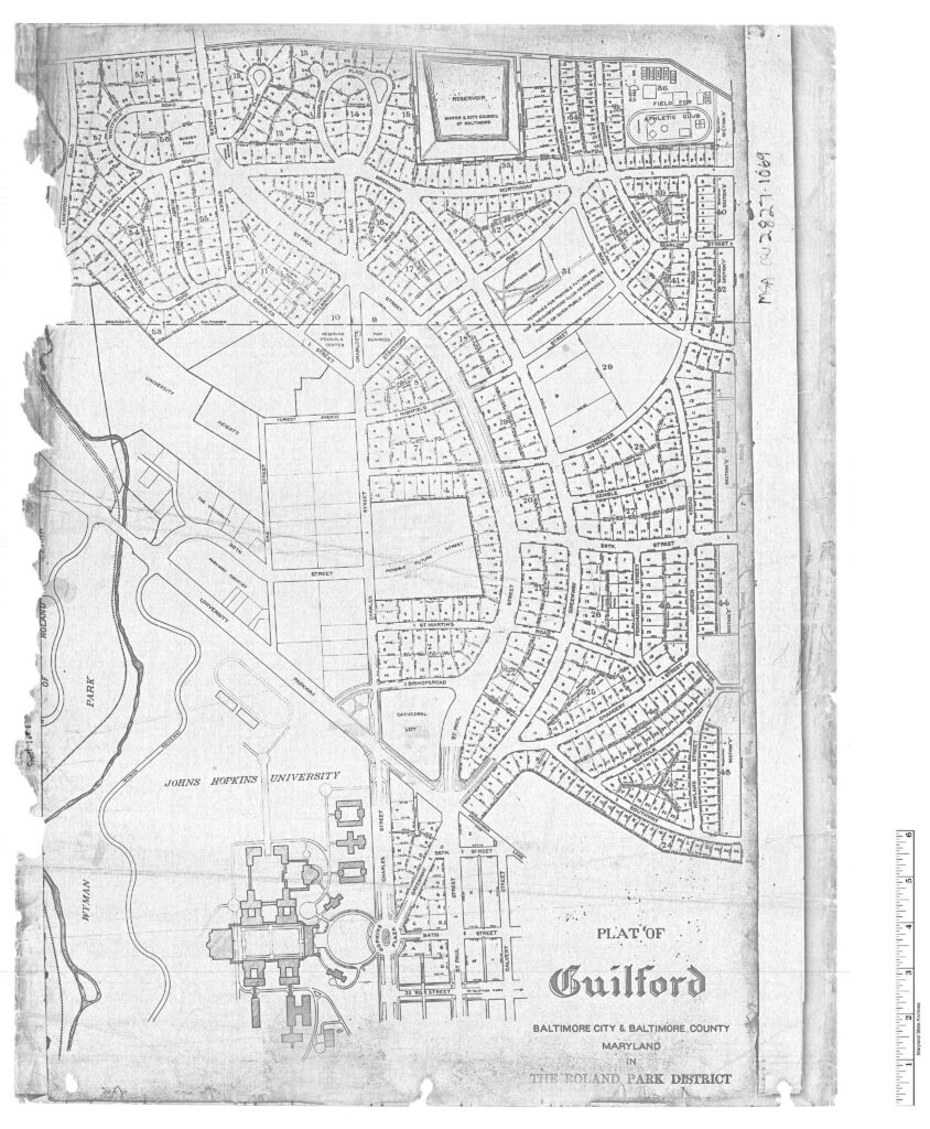 1926 plat of Guilford