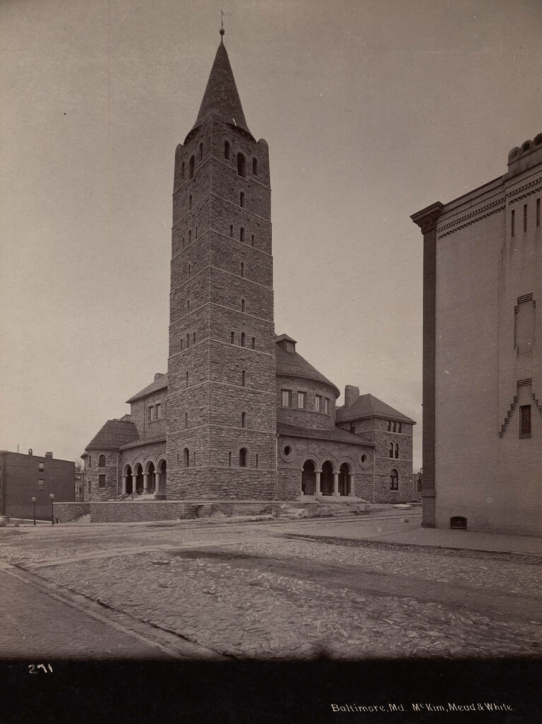 First Methodist Episcopal Church (Lovely Lane United Methodist Church) Collection: A. D. White Architectural Photographs, Cornell University Library