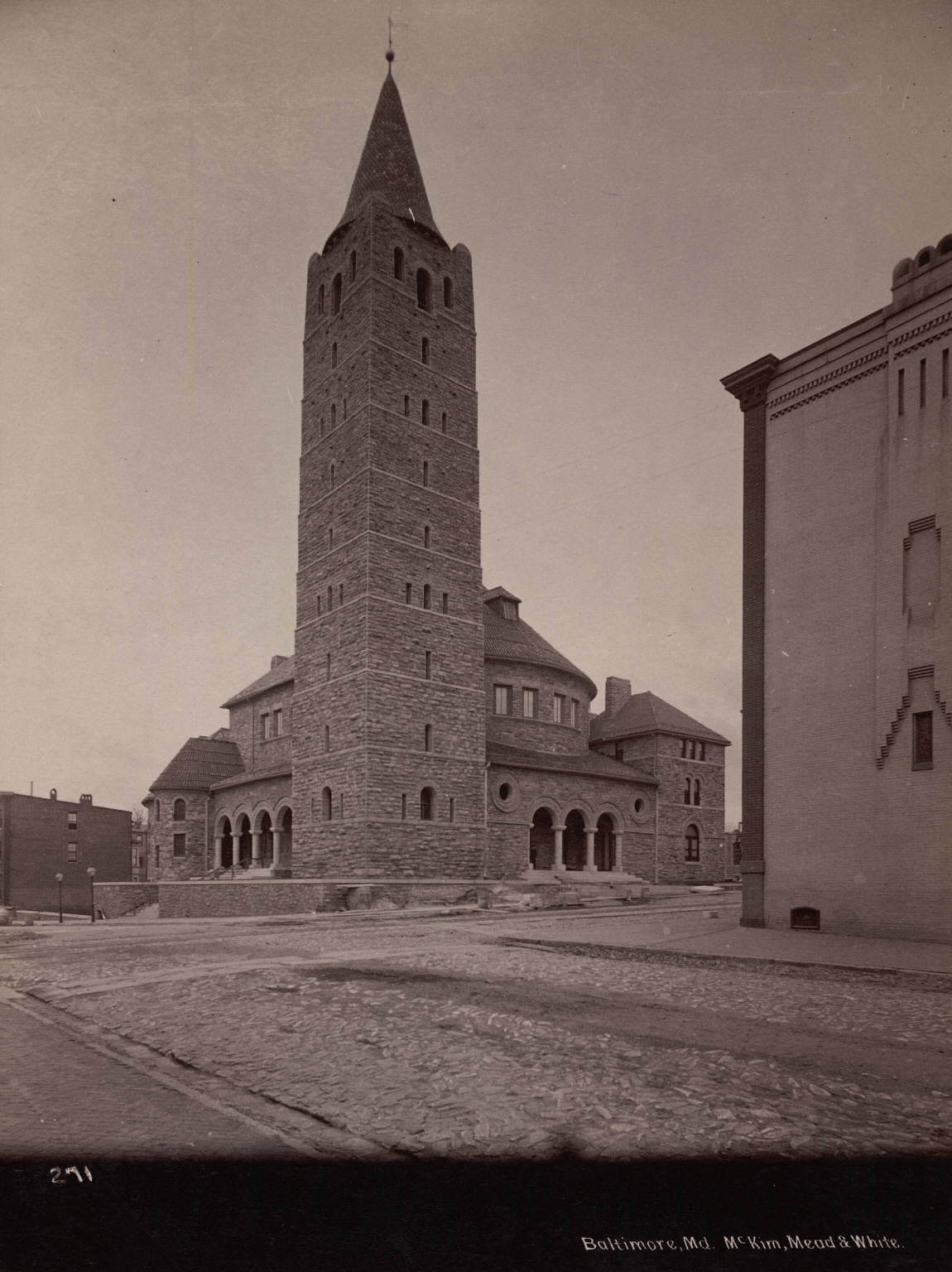 First Methodist Episcopal Church in 1887