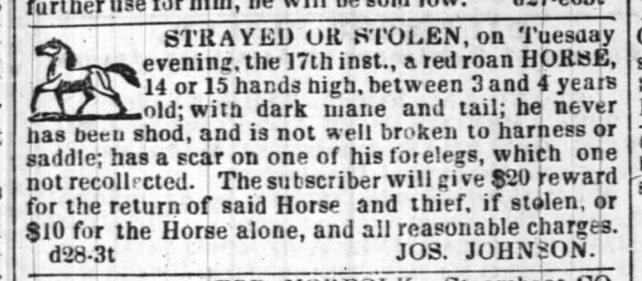 Baltimore Sun - December 30th, 1839