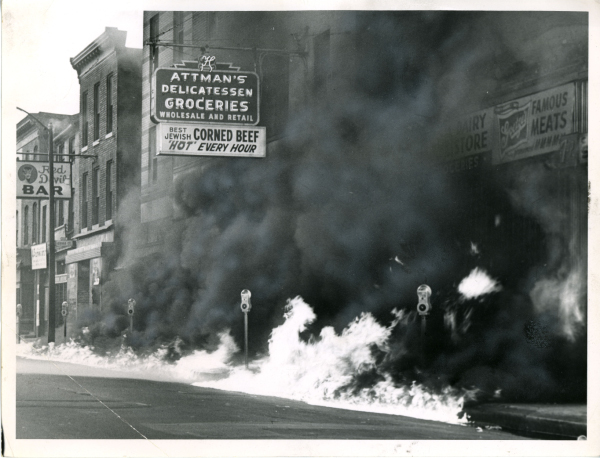 Film Footage of '68 Baltimore Riots