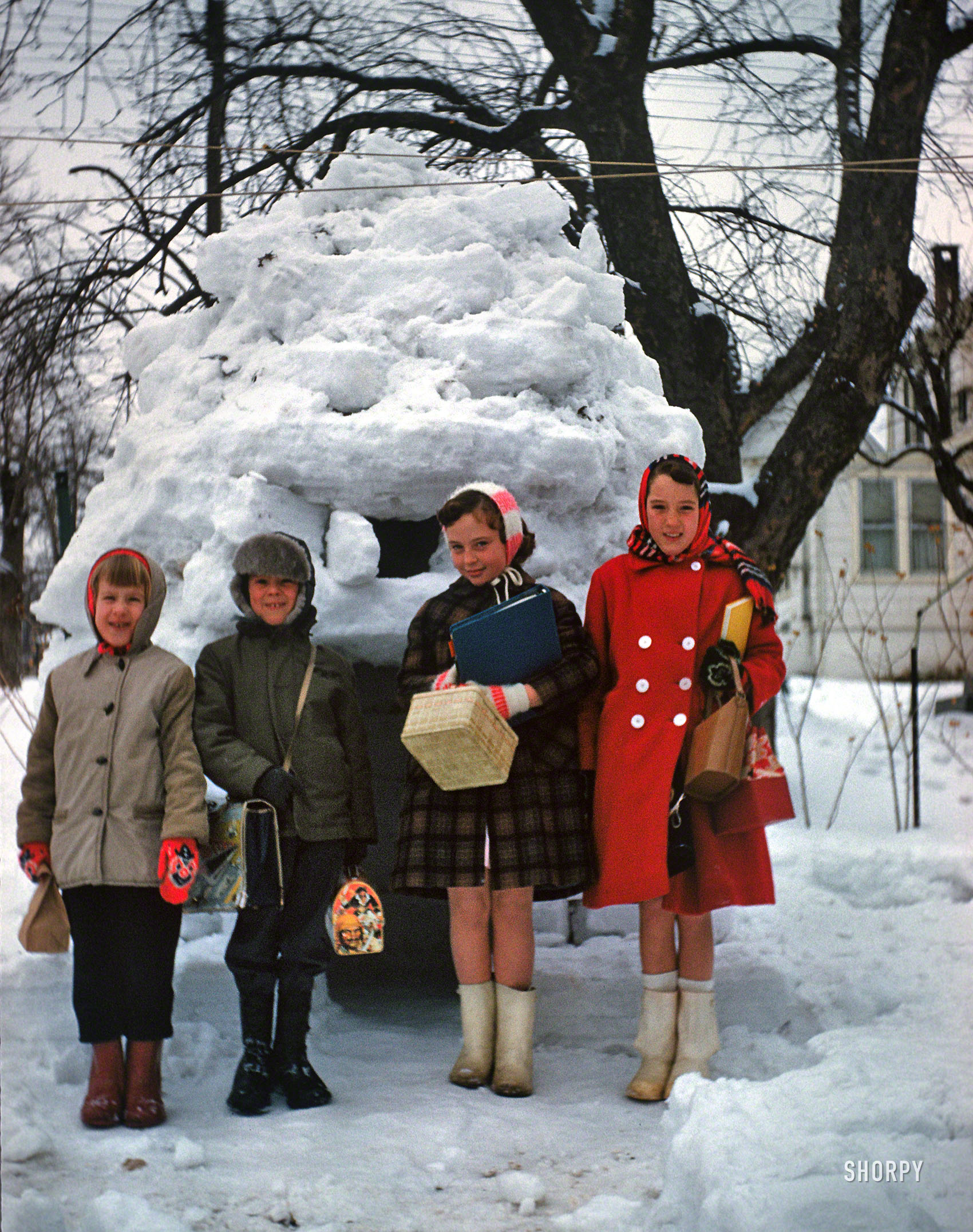 Baltimore Kids in the Winter of 1961