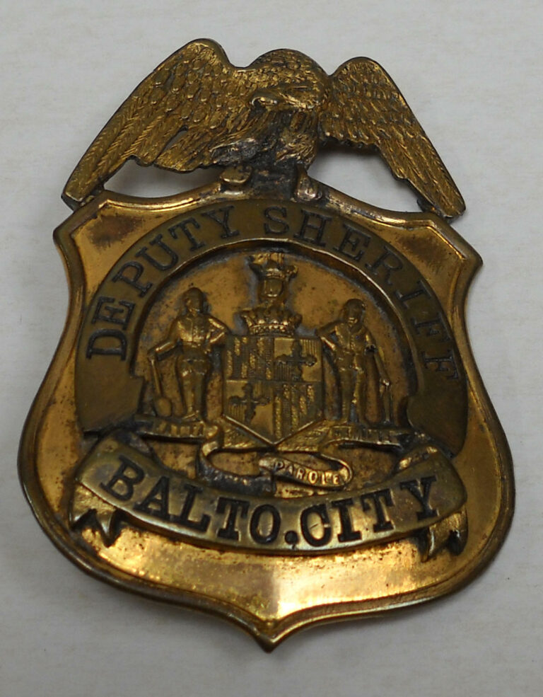 Baltimore Police badge