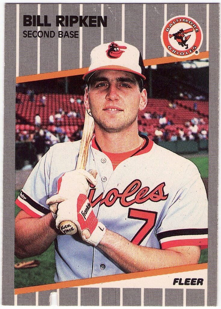 Bill Ripken 1989 Fleer