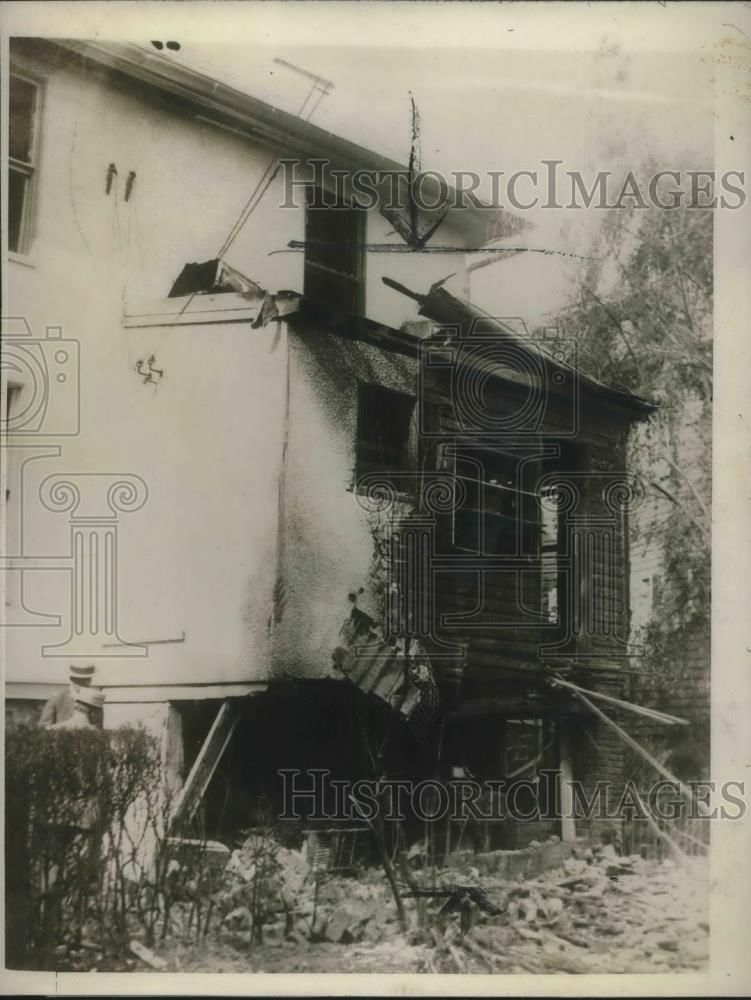 1927 explosion at Baltimore mayor's home