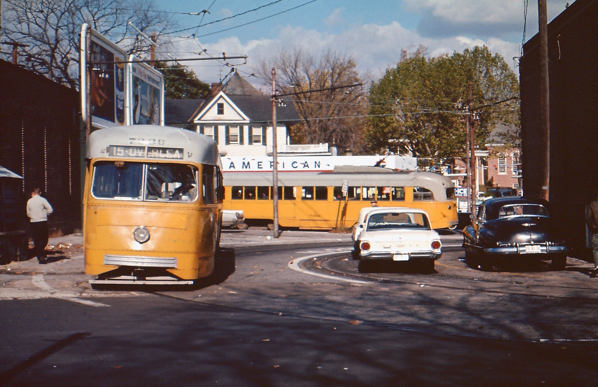 Baltimore Streetcars in the 1960s