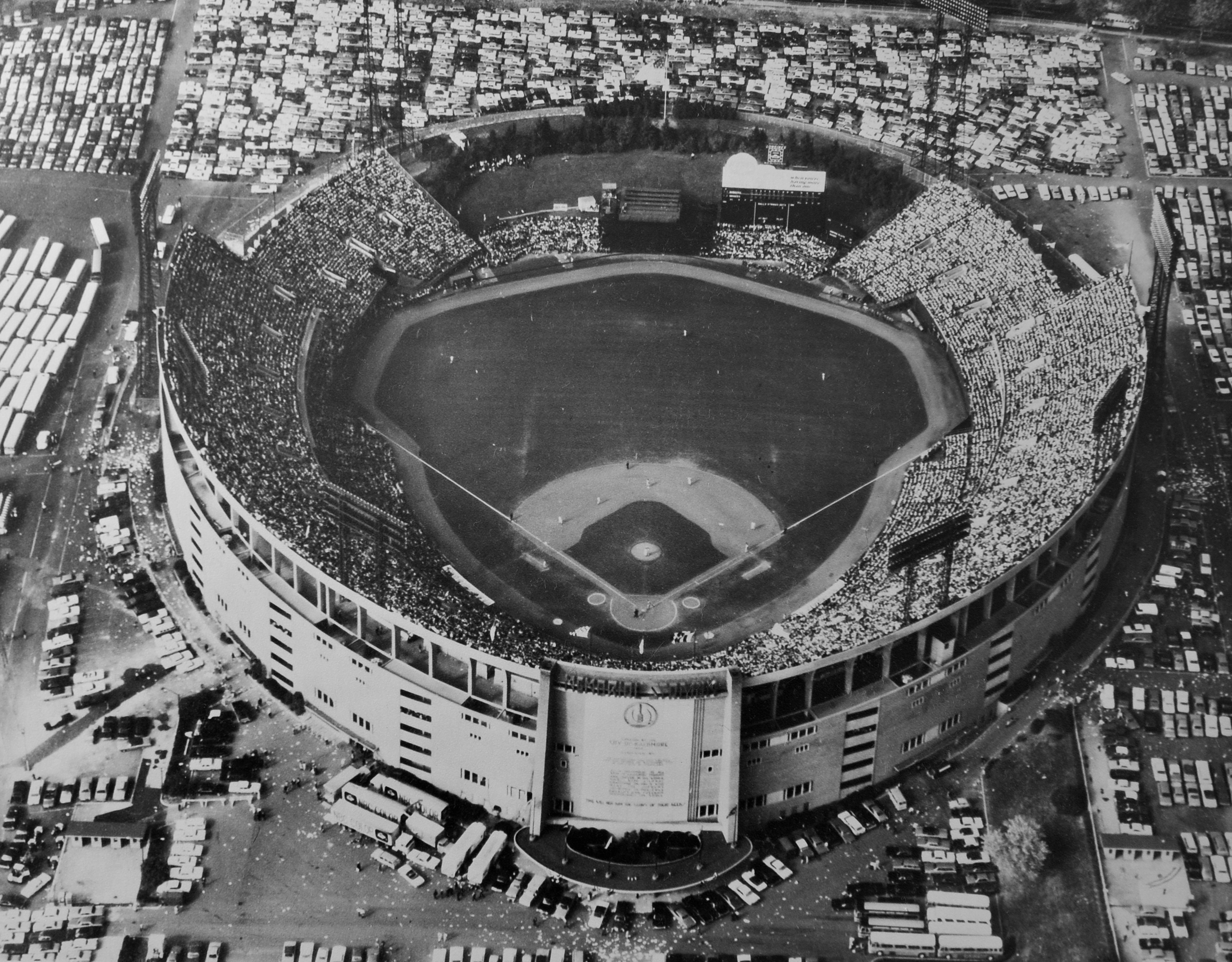 Aerial View of the 1966 World Series