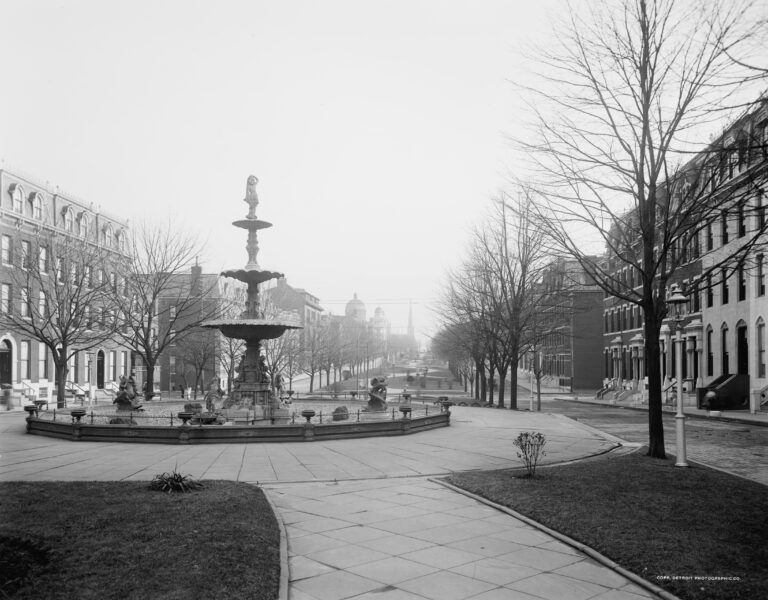 Eutaw Place, Baltimore, MD - 1903