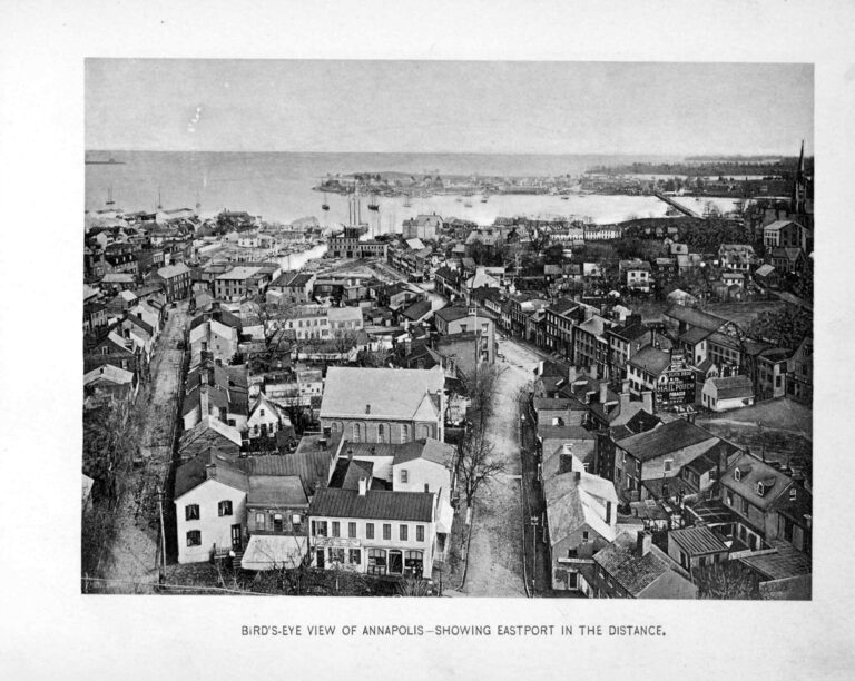 Annapolis view in 1896