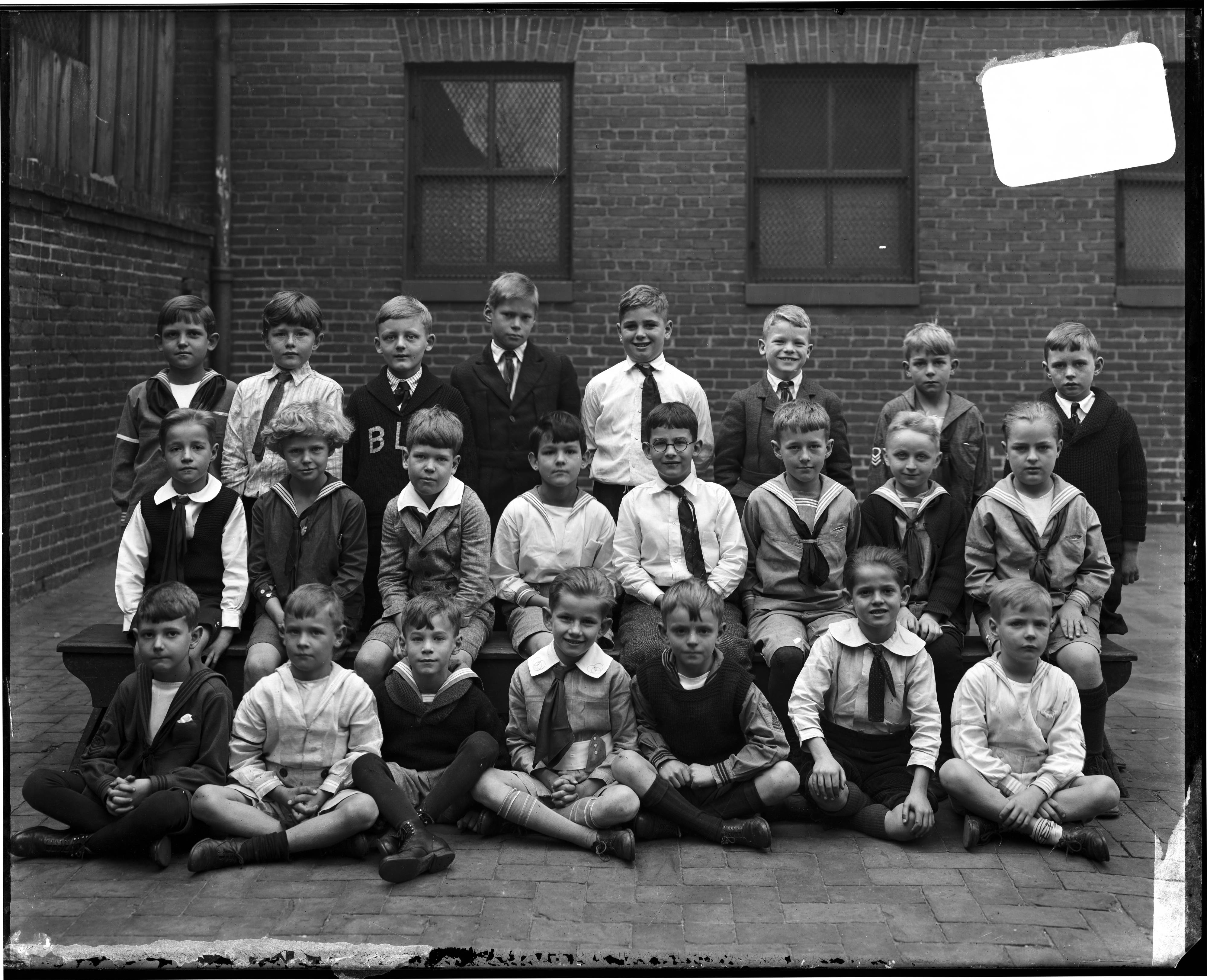 The Boys' Latin School 1922 Class Photo