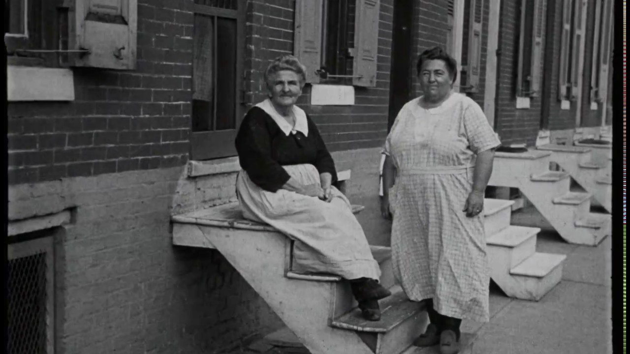 Lovely 1920s Film Footage of Baltimore's Pigtown